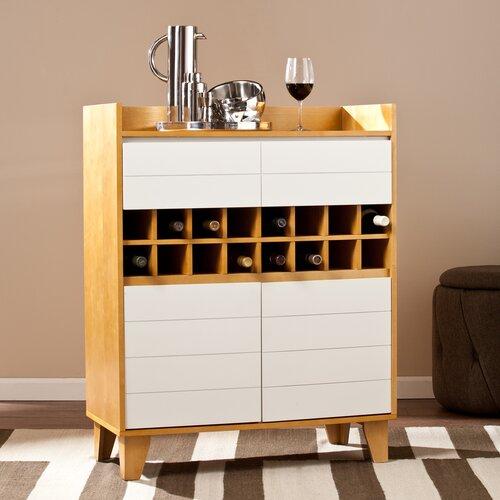 Peralta 16 Bottle Wine Cabinet