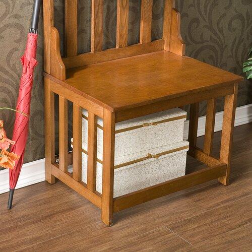 Wildon Home ®  Locust Entryway Hall Coat Rack/Bench