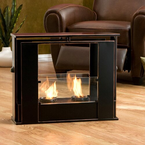 Wildon Home ® Kilgore Portable Gel Fuel Fireplace