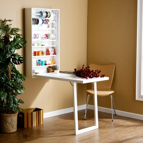 Wildon Home ® Frank Fold-Out Craft Desk