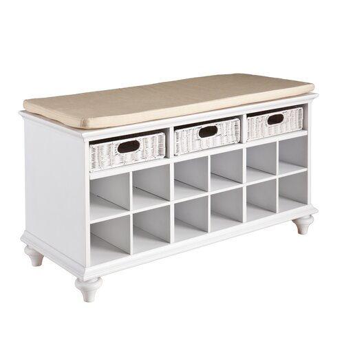 Wildon Home ® Mason Shoe Storage Bench