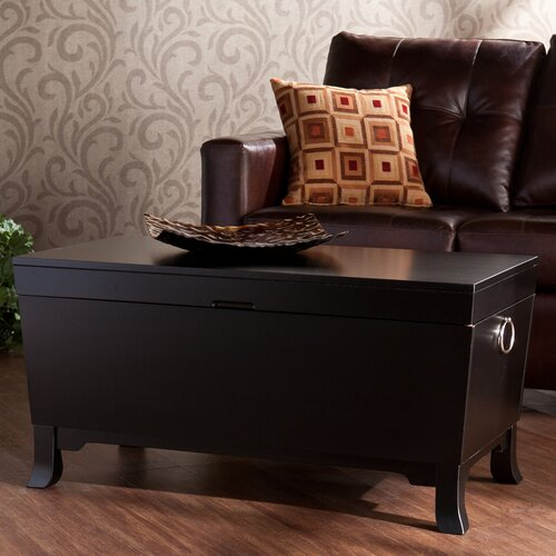 Wildon Home ® Collins Trunk Coffee Table with Lift-Top
