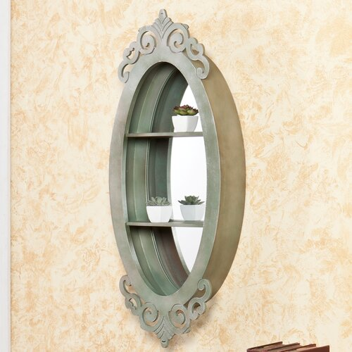 Wildon Home ®  Edan Shadowbo Wall Mirror