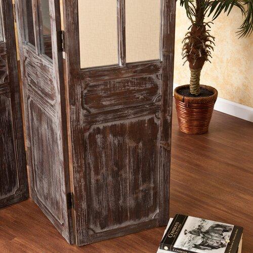 """Wildon Home ® 68.75"""" x 47.75"""" Pilsen 3 Panel Room Divider"""