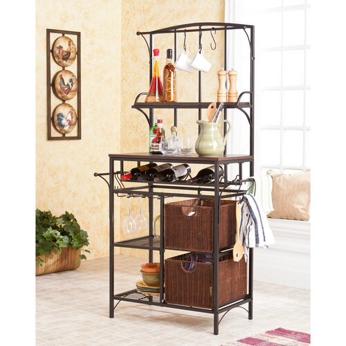 Wildon Home ® Wescott Storage Baker's Rack