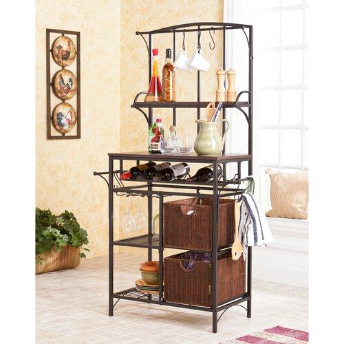 Wildon Home ® Wescott Storage Baker's Rack