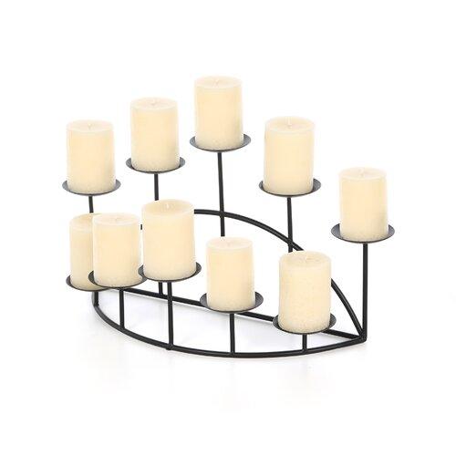 Wildon Home ® Pocatello Ten Candle Candelabra Set