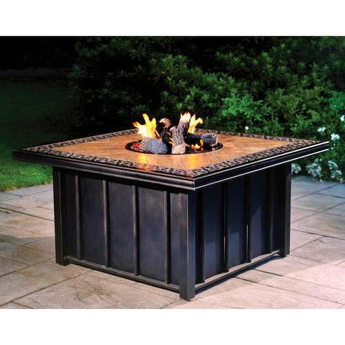 Wildon Home ® Austin Gas Fire Pit