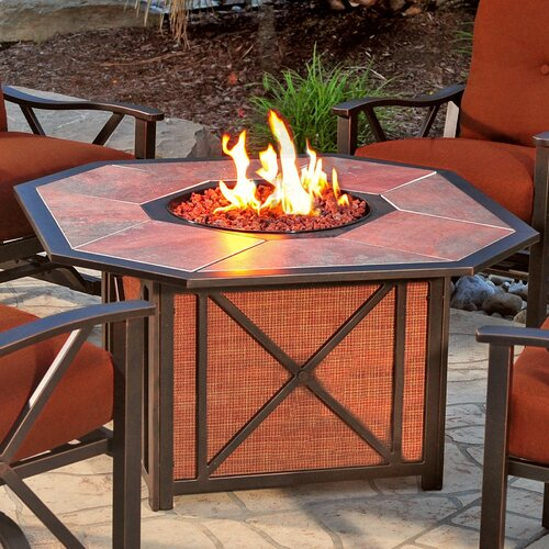 Wildon Home ® Jepson Gas Fire Pit