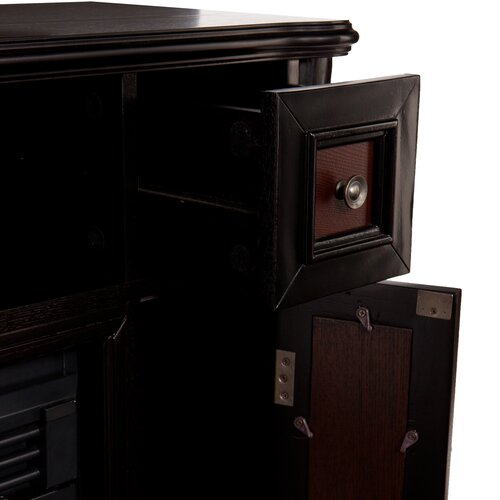 "Wildon Home ® Gibbs 48"" TV Stand with Electric Fireplace"