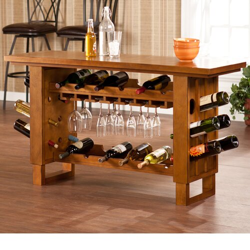 Wildon Home ® Montmarte Riddling 30 Bottle Wine Rack