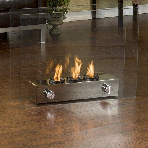 Wildon Home ® Cherokee Portable Gel Fuel Indoor/ Outdoor Fireplace