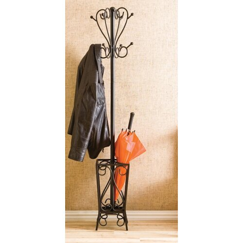 Wildon Home ® Bell Coat Rack with Umbrella Stand