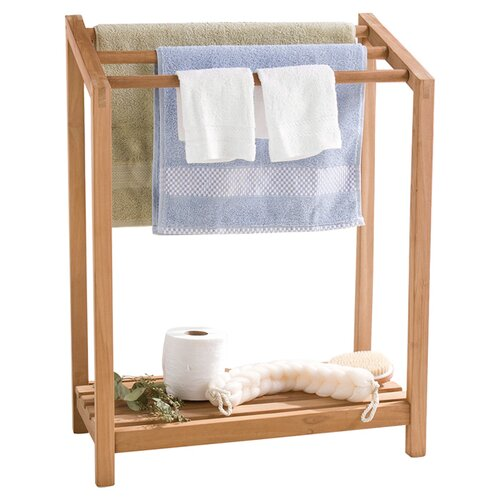 Wildon Home Mckell Free Standing Towel Rack Reviews