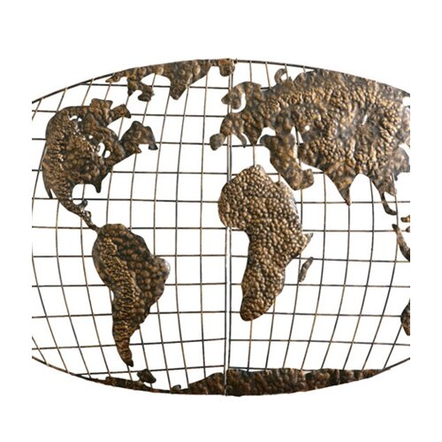 Wildon Home ® Poole World Map Wall Décor