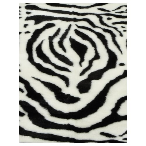 Walk On Me Animal Zebra White Spine Rug