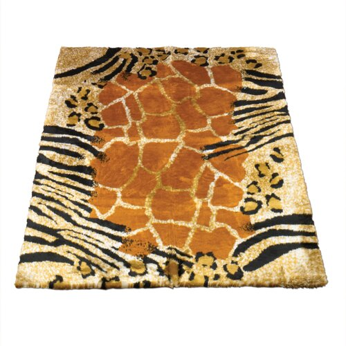 Walk On Me Animal Safari Print Rug