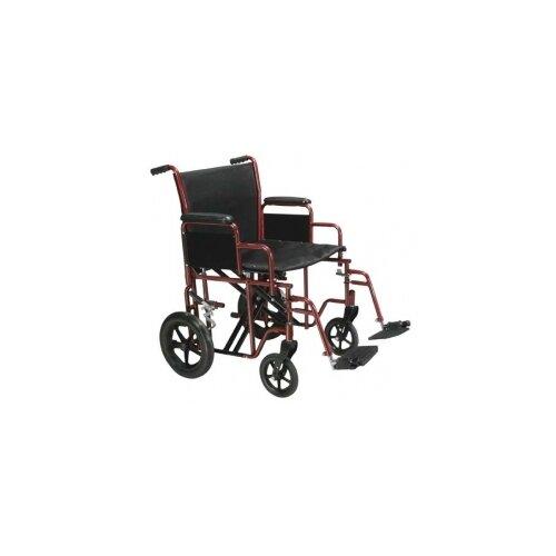 Steel Transport Bariatric Wheelchair