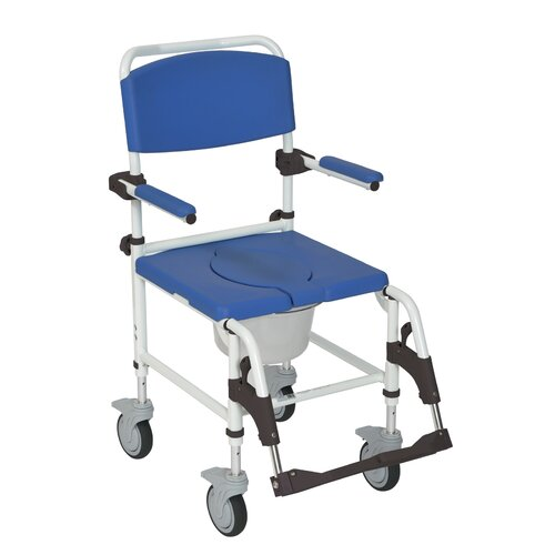 Shower Commode Mobile Chair