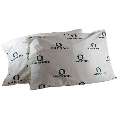 NCAA Oregon Pillowcase (Set of 2)