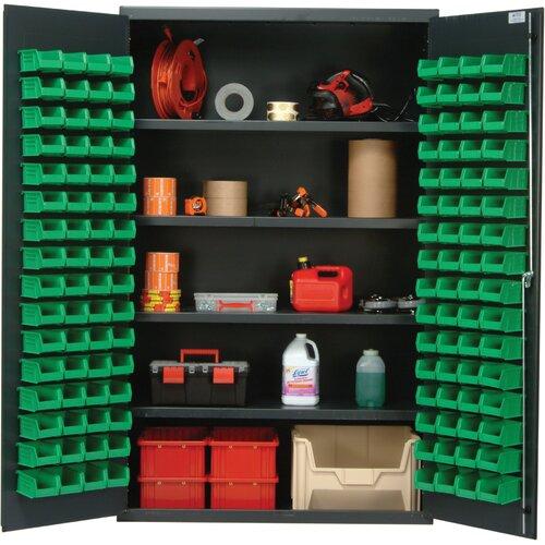 "Quantum Storage 78"" H x 48"" W x 24"" D Welded Storage Cabinet"