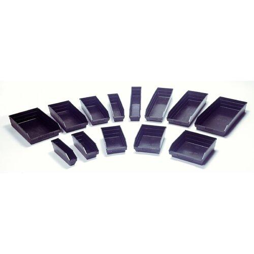 """Quantum Storage Recycled Shelf Bin (4"""" H x 8 3/8"""" W x 17 7/8"""" D)"""