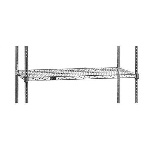 "Quantum Storage 12"" Q-Stor Chrome Additional Shelving"