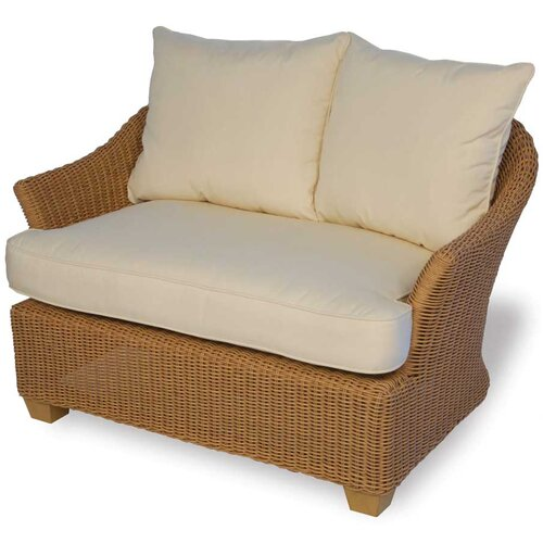 Lloyd Flanders Napa Deep Seating Chair and Half w/ Cushions