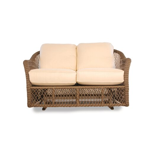 Vineyard Glider Loveseat with Cushions