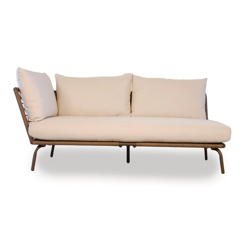 Soho Right Arm Loveseat Sectional Piece with Cushions
