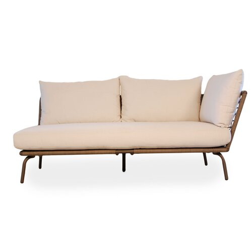 Soho Left Arm Loveseat Sectional Piece with Cushions