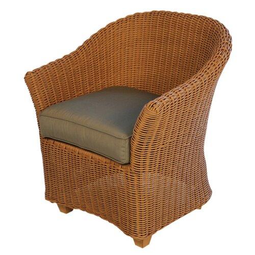 Lloyd Flanders Napa Dining Arm Chair with Cushion