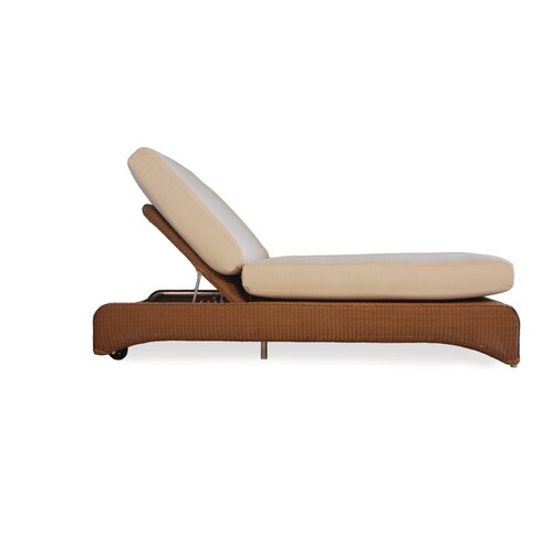 Double Pool Chaise Lounge with Cushion