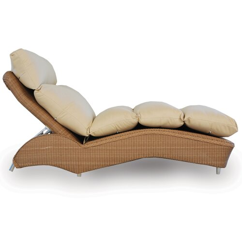Single Chaise Lounge with Cushion