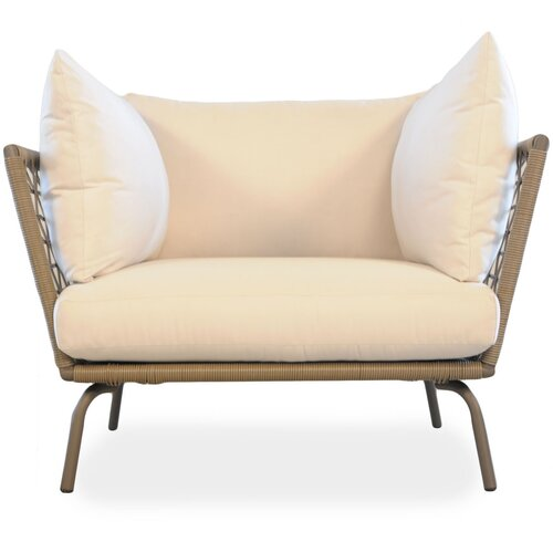 Lloyd Flanders Soho Lounge Chair with Cushion