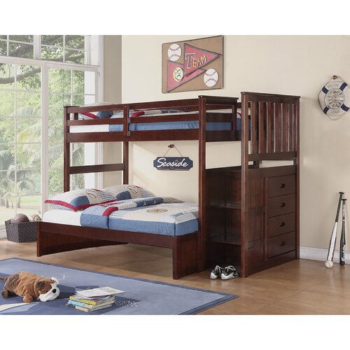 Boraam Twin Over Full Bunk Bed & Reviews