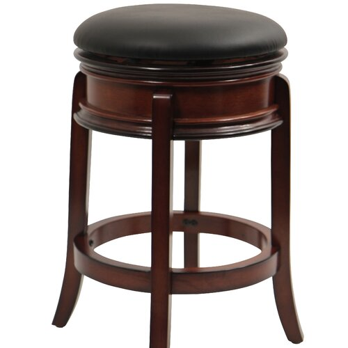 "Boraam Industries Inc Magellan 24"" Swivel Bar Stool with Cushion"