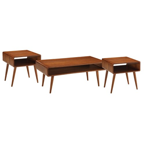 Dansk 3 Piece Coffee Table Set