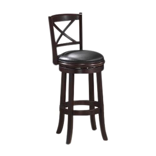 "Boraam Industries Inc Georgia 29"" Swivel Bar Stool with Cushion"