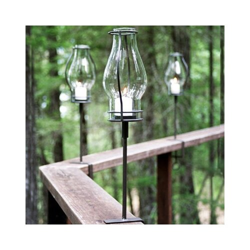 Pangaea Home and Garden Love Bracket Torch (Set of 2)