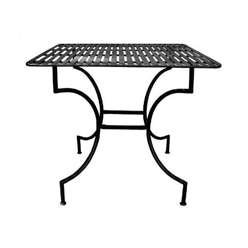 Pangaea Home and Garden Iron Square Dining Table