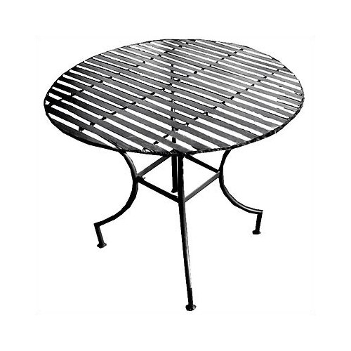 Iron Round Dining Table