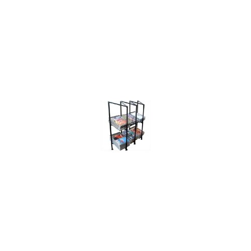 3 Division Multimedia Wire Rack