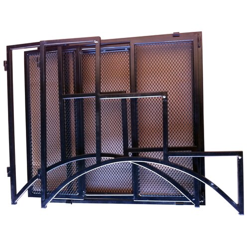 Pangaea Home and Garden Folding Rectangular Three Layer Iron Plant Stand