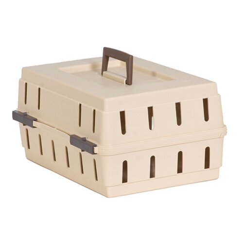 Solid Top Cabin Kennel Pet Carrier