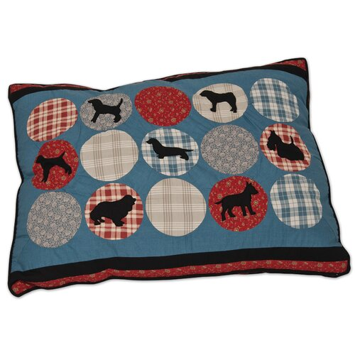 Petmate Rover Quilted Dog Pillow