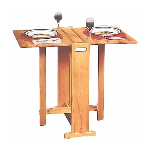 Catskill Craftsmen, Inc. Fold Away Prep Table with Butcher Block Top