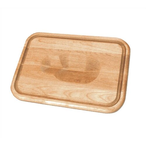 "Catskill Craftsmen, Inc. 20"" Versatile Meat Holding Wedge / Trench Cutting Board"