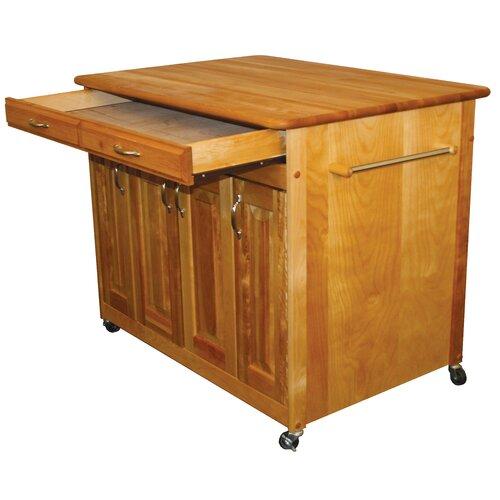Catskill Craftsmen Kitchen Cart: Catskill Craftsmen Kitchen Island & Reviews