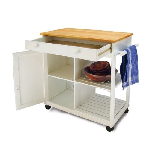 Catskill Craftsmen, Inc. Preston Hollow Kitchen Cart